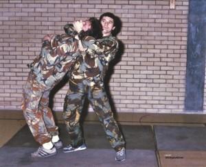 Mick, Hereford Close Quarter Combat Training.