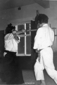 Pentre Wales in the late 1960's early 1970's.  Ken Williams Sensei, Dojo.